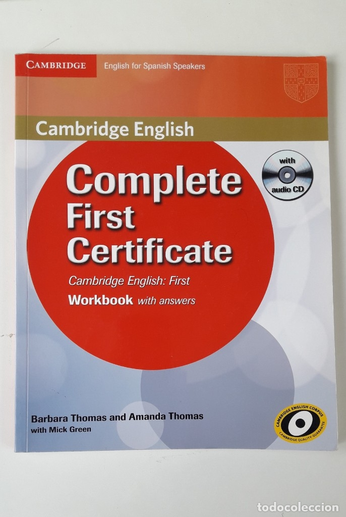 Libros de segunda mano: CAMBRIDGE ENGLISH. COMPLETE FIRST CERTIFICATE WITH CD-ROM (2 TOMOS) - Foto 3 - 180287708