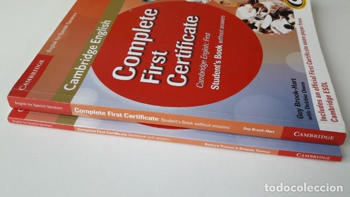 Libros de segunda mano: CAMBRIDGE ENGLISH. COMPLETE FIRST CERTIFICATE WITH CD-ROM (2 TOMOS) - Foto 10 - 180287708