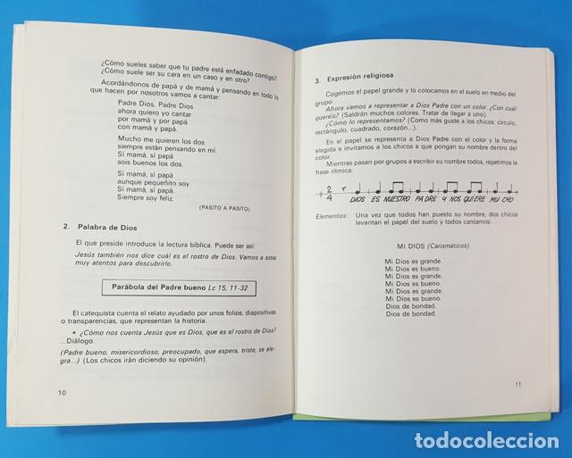 Libros de segunda mano: CELEBRACIONES DE SIGNOS Y SIMBOLOS. INICIACION SACRAMENTAL EN EGB, EQUIPO LA SALLE CVS 93 PAG E.G.B - Foto 5 - 180397256