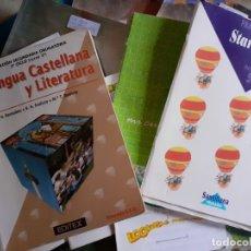 Libros de segunda mano: LOTE DE LIBROS DE TEXTO - SANTILLANA EDITEX. Lote 180433265