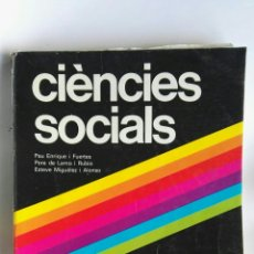 Libros de segunda mano: CIÈNCIES SOCIALS 8 EGB EDITORIAL BRUÑO. Lote 180454967
