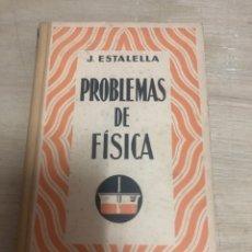 Libros de segunda mano: PROBLEMAS DE FÍSICA. Lote 180463881