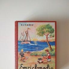 Libros de segunda mano: ENCICLOPEDIA TERCER GRADO ALVAREZ, EDAF, AÑO 1998, 635 PAGINAS, TAPA DURA. Lote 180875352