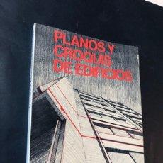 Libros de segunda mano: PLANOS Y CROQUIS DE EDIFICIOS / CEAC AÑO 1977 / ENCICLOPEDIA DELINEANTE / SIN USAR. Lote 180876428