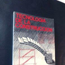 Libros de segunda mano: TECNOLOGIA DE LA CONSTRUCCION / CEAC AÑO 1984 / ENCICLOPEDIA DELINEANTE / SIN USAR. Lote 180876660