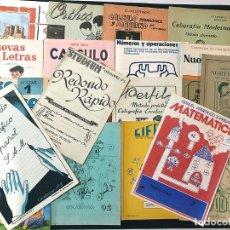 Libros de segunda mano: 20 CUADERNOS VINTAGE DIFERENTES DE ESCUELA / CALIGRAFIA - PROBLEMAS - ESCRITURA / SIN USAR. Lote 180882698