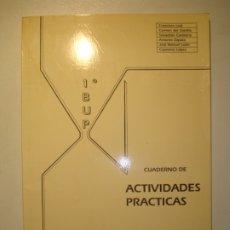 Libros de segunda mano: CUADERNO ACTIVIDADES PRÁCTICAS. CIENCIAS NATURALES 1º BUP - I.B. NICOLÁS SALMERÓN Y ALONSO ALMERÍA. Lote 180891858