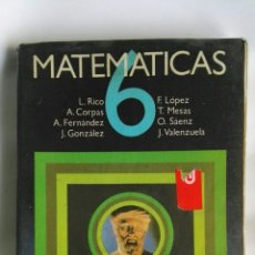 Libros de segunda mano: MATEMÁTICAS 6 EGB ANAYA. Lote 180899536