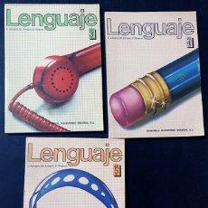Libros de segunda mano: LIBROS TEXTO 3º-4º-5º EGB / LENGUAJE / ARTIGOT / ED. MAGISTERIO ESPAÑOL AÑO 1982 / SIN USAR. Lote 224623683