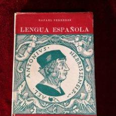 Libri di seconda mano: ORIGINAL DE ÉPOCA 1944 LENGUA ESPAÑOLA PRIMER CURSO - E. C. I. R.. Lote 181009520