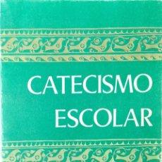 Libros de segunda mano: CATECISMO ESCOLAR 3º EGB. AÑO 1973. Lote 194569351