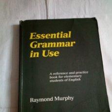 Libros de segunda mano: 158-ESSENTIAL GRAMMAR IN USE, RAYMOND MURPHY, CAMBRIDGE UNIVERSITY PRESS. Lote 181566186