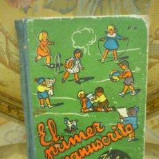 Livres d'occasion: MI PRIMER MANUSCRITO, DE JOSÉ DALMÁU CARLES. MUY ILUSTRADO. DALMÁU CARLES 1.960.. Lote 181600553