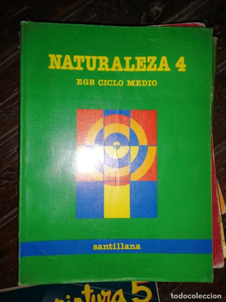 NATURALEZA 4. EGB CICLO MEDIO. SANTILLANA. 1988 (Libros de Segunda Mano - Libros de Texto )