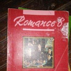 Libros de segunda mano: ROMANCE 8. LENGUA EGB. SANTILLANA. Lote 181999093
