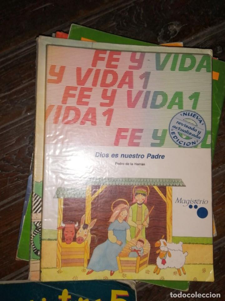 1 LIBRO TEXTO AÑO 1988 - RELIGION - 1º E.G.B - 6EGB - FE Y VIDA - EDITA MAGISTERIO (Libros de Segunda Mano - Libros de Texto )