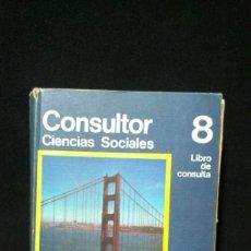 Libros de segunda mano: CONSULTOR CIENCIAS SOCIALES 8 EGB / SANTILLANA 1974. Lote 181999377