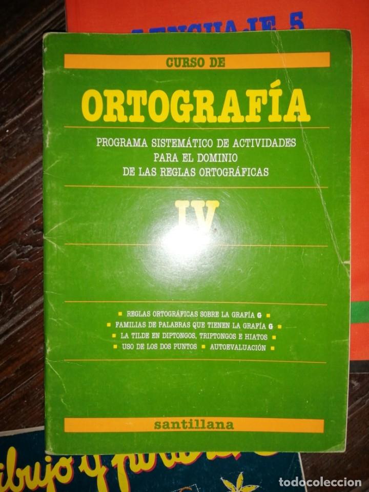 CURSO DE OTROGRAFIA IV SANTILLANA (Libros de Segunda Mano - Libros de Texto )