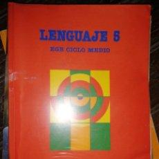 Libros de segunda mano: SANTILLANA - LENGUAJE 5 - EGB CICLO MEDIO - 1988. Lote 181999770