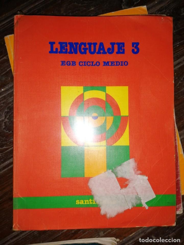 LENGUAJE 3 EGB CICLO MEDIO. SANTILLANA. 1988. PÁGINAS 159. PESO 440 GR. (Libros de Segunda Mano - Libros de Texto )