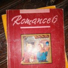 Libros de segunda mano: ROMANCE 6 - LENGUA EGB - EDT. SANTILLANA, 1990.. Lote 181999942