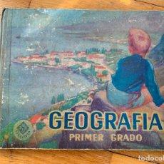 Libros de segunda mano: ENCANTADOR LIBRO DE GEOGRAFIA CON MAPAS, DEL AÑO 1967. Lote 182150882