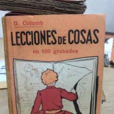 Libros de segunda mano: LECCIONES DE COSAS EN 650 GRABADOS. Lote 182383026