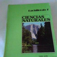 Libros de segunda mano: 130-CIENCIAS NATURALES, 1º BACHILLERATO, 1975. Lote 183035593