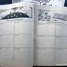 Libros de segunda mano: 12 PRECIOSOS CUADERNOS DIFERENTES / ILUSTRADOS / PROBLEMAS SALVATELLA AÑO 1959 / SIN USAR. Lote 227669050