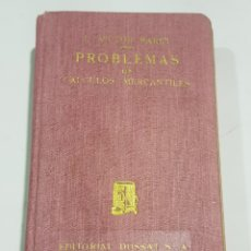 Libros de segunda mano: PROBLEMAS DE CALCULOS MERCANTILES - TDK101. Lote 183737078