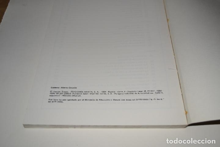 Libros de segunda mano: LIBRO TEXTO Antos lecturas y comentarios 7 EGB Anaya 1986 PERFECTO DE ALMACEN - Foto 2 - 183767968