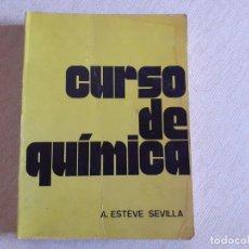 Libros de segunda mano: CURSO DE QUÍMICA ESTEVE. Lote 183878236