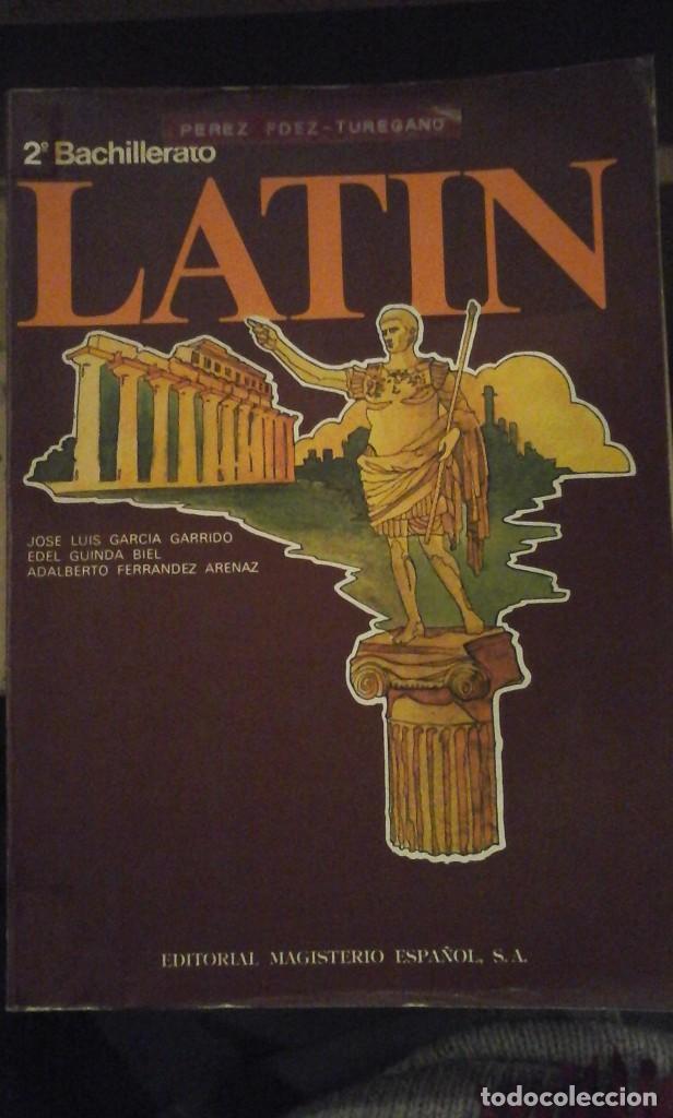 LATÍN. 2º BACHILLERATO (MADRID, 1976) (Libros de Segunda Mano - Libros de Texto )