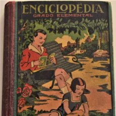 Libros de segunda mano: ENCICLOPEDIA CÍCLICO-PEDAGÓGICA GRADO ELEMENTAL - JOSÉ DALMAU - AÑO 1940 - BUEN ESTADO. Lote 184018091