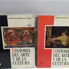 Libros de segunda mano: HISTORIA DEL ARTE Y LA CULTURA 1º Y 2º BACH. LABORAL. CONSUELO IGLESIAS. EDITORIAL TEIDE. 1965-66. Lote 184207472