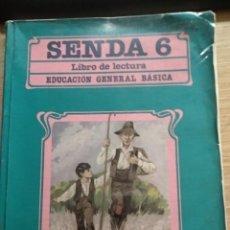 Libros de segunda mano: SENDA 6 EGB SANTILLANA 1988. Lote 184258213