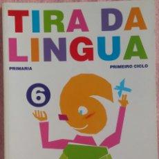 Libros de segunda mano: 6º PRIMARIA, TIRA DA LINGUA, ANAYA, 2007 /// CONOCIMIENTO MEDIO MATEMÁTICAS MÚSICA PLÁSTICA LECTURAS. Lote 184552360