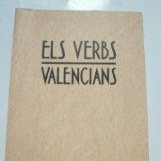 Libros de segunda mano: ELS VERBS VALENCIANS. Lote 184583863