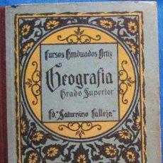 Libros de segunda mano: EJERCICIOS PRÁCTICOS GRADO SUPERIOR. CALLEJA. 1924. Lote 185766152