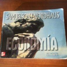 Libros de segunda mano: ECONOMÍA. SAMUELSON/NORDHAUS. 1999.. Lote 185781731