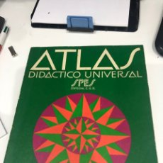 Libros de segunda mano: ATLAS DIDÁCTICO UNIVERSAL. Lote 186154503