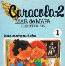 Livres d'occasion: CARACOLA 2 MAR DE MAPA PREESCOLAR SM EDICIONES 1982. Lote 186311357