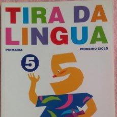 Libros de segunda mano: 5º PRIMARIA, TIRA DA LINGUA, ANAYA, 2007 /// MATEMÁTICAS BIOLOXÍA MÚSICA LECTURAS PLÁSTICA RELIGIÓN. Lote 186321382