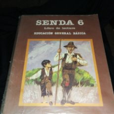 Libros de segunda mano: LIBRO EGB SENDA 6,SANTILLANA 83-84.. Lote 187126925