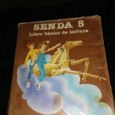 Libros de segunda mano: LIBRO EGB SENDA 5,SANTILLANA AÑO 82. Lote 278840943