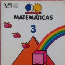 Libros de segunda mano: 3º PRIMARIA, MATEMÁTICAS, SERIE SOL E LÚA, ANAYA, 1997 /// LENGUA LECTURAS INGLÉS MÚSICA PLÁSTICA. Lote 187333652