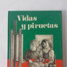 Libros de segunda mano: VIDAS Y PIRUETAS - REALIDAD Y LECTURAS 2º EGB, NUEVO!!!!. Lote 187454743