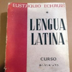 Libros de segunda mano: LENGUA LATINA - SINTAXIS CON APÉNDICES DE FONÉTICA, MORFOLOGIA, PRASODIA Y METRICA - 1945. Lote 187524638