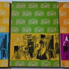 Libros de segunda mano: LOTE 3 LIBROS APRENDIZAJE INDUSTRIAL RELIGIÓN 1º, 2º Y 3º AÑO 1966 - EDITORIAL EVEREST. Lote 188477237