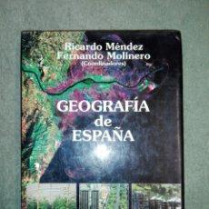 Libros de segunda mano: GEOGRAFÍA DE ESPAÑA..1993. Lote 188510350